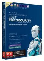 ESET File Security for Linux / Win Server 5年1ライセンス
