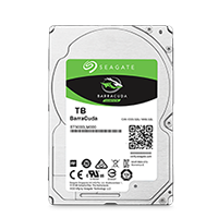 Seagate BarraCuda SATA 500GB 2.5インチ ST500LM030