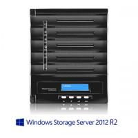 【送料無料】Thecus  W5000+(タワー/5Bay/iSCSI/NAS/WSS Essentials)