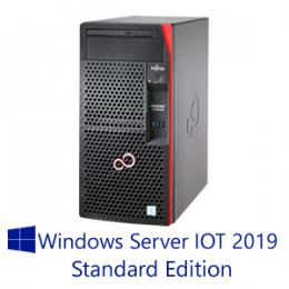 【WS IOT2019 STD】富士通 PRIMERGY TX1310 M3 16GB 4TBx2モデル(Xeon E3-1225v6/タワー)