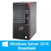 【Windows Server 2016 Essentials限定セットモデル】富士通 PRIMERGY TX1310 M3(Celeron G3930/4GB/HDD別売)