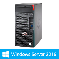 【Windows Server 2016 Standard限定セットモデル】富士通 PRIMERGY TX1310 M3(Celeron G3930/4GB/HDD別売)