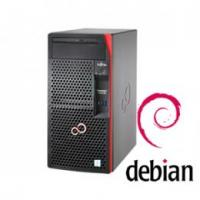 【Debian】富士通 PRIMERGY TX1310 M3 4GB 1TBモデル(Xeon E3-1225v6/タワー)