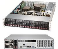 "【在庫処分】SUPERMICRO SuperStorage 2029P-E1CR24H(Scalable/2.5""x24ベイ/2U)"