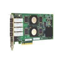 QLogic 4Gb Quad Port FC HBA, x8 PCIe, LC multi-mode optic QLE2464-CK