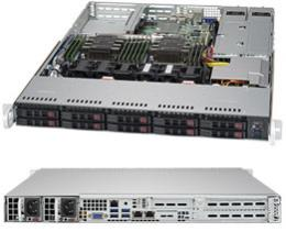 SUPERMICRO SuperServer 1029P-WTRT G6138 x2 64GB 1TB x8搭載モデル