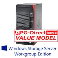 【WSS2016 WG】富士通 PRIMERGY TX1310 M3 8GB 4TBx2モデル(Xeon E3-1225v6/タワー)